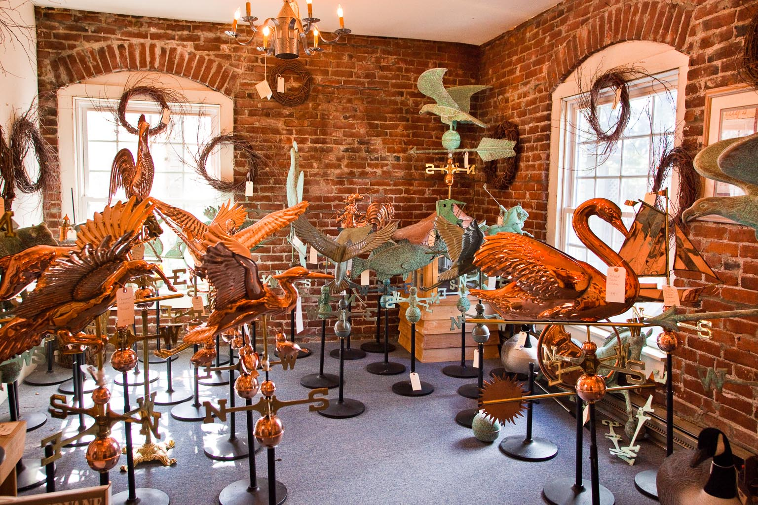 american at heart carries a large assortment of - Weather Vanes