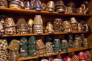 Lampshades in every color, style and size imaginable.