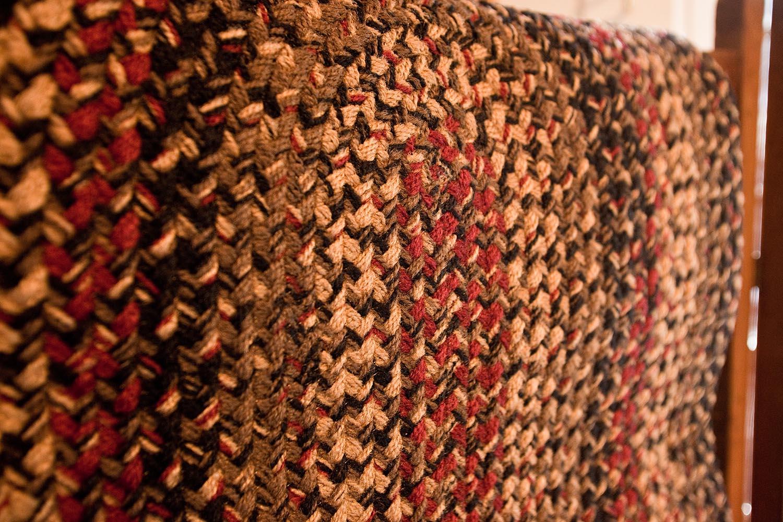 This Josephu0027s Coat Rug Closeup Shows The Quality Of Their Braiding.